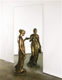 dono di mercurio allo specchio (mercury's gift to the mirror) by michelangelo pistoletto