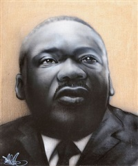 martin luther king by banga