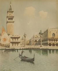 canale veneziano by giacomo gemmi