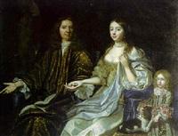 portrait d'un gentilhomme avec sa famille by abraham lambertsz jacobsz van den tempel