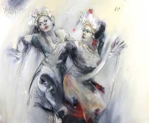 2 penari by ma dadang