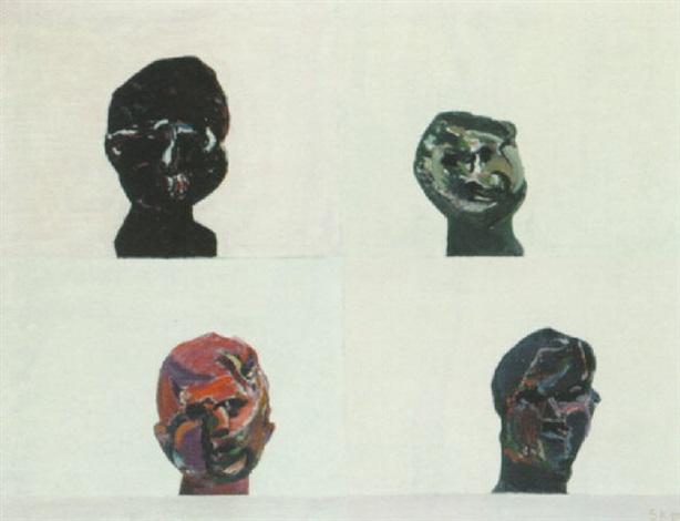 fire hoveder by síren kjaersgaard