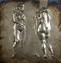 nudo di donna by pietro annigoni