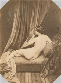 étude de nu (study) by joseph auguste belloc