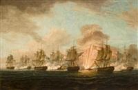 the battle of cape santa maria by thomas whitcombe