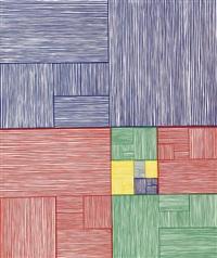 nine constant windows by james siena