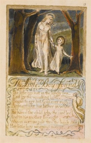 the little boy found by william blake