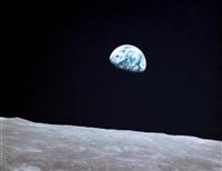 lever de terre--earthrise (apollo 8, 24 décembre 1968) by james mcdivitt