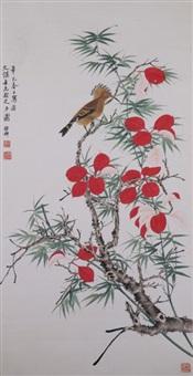 chinese wc bird & flowers xie zhiliu 1910-1997 by xie zhiliu