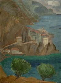 st. gregorios monastery, athos by polykleitos regos