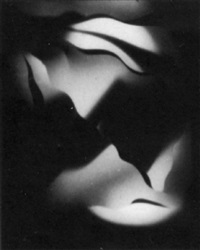 cut paper abstraction by francis joseph bruguiere