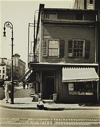 christopher and bleecker streets by berenice abbott