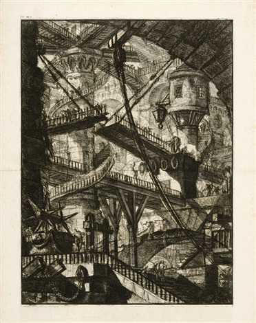 carceri dinvenzione 2 works by giovanni battista piranesi