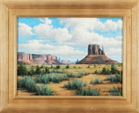 monument valley by frank p. corso