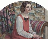 portrait of mademoiselle le roy by bessie ellen davidson