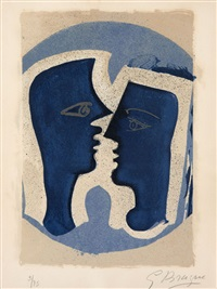 lettera amorosa, 1 planche, p. 53 by georges braque