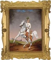 kaiser franz joseph i. von österreich by lilly könig