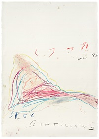 silex scintillans by cy twombly