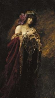 la danseuse by charles louis alexandre chivot