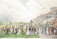 m. racing at auteuil by madame m. fournier-sarlovèze