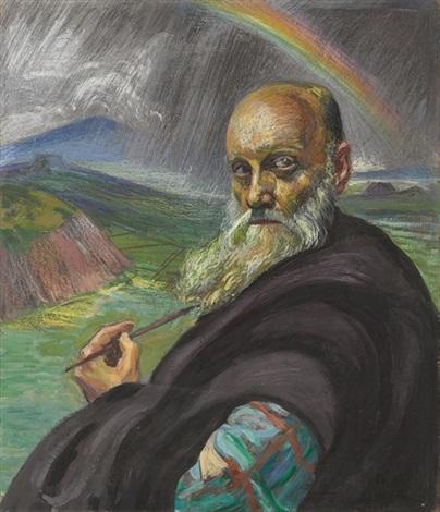 autorretrato by dr atl gerardo murillo