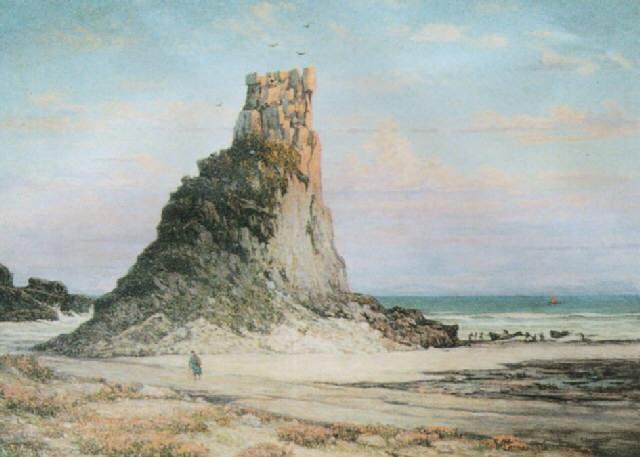 el morro de la playa de torres brasil by ceferino carnacini