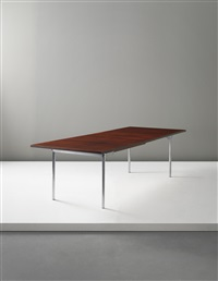 extendable dining table by hans j. wegner