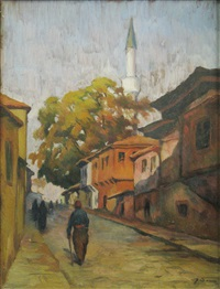 street with mosk by dan ialomiteanu