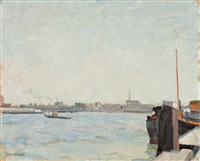 le port by willem van hasselt