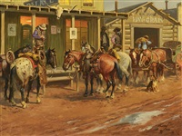 cowtown mainstreet by charlie dye