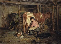 milking time by robert l. alexander