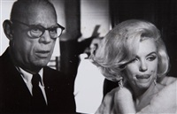 marylin monroe, madison square garden (4 works) by henry grossman
