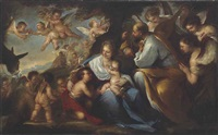 the rest on the flight into egypt by luca giordano
