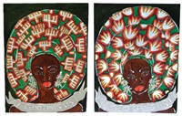 god loves us (pair) by sokari douglas camp