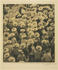 workers parade by tina modotti