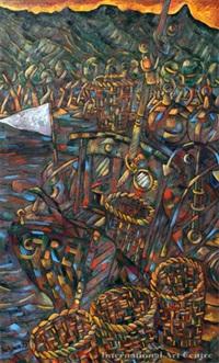 coromandel wharf by dean buchanan