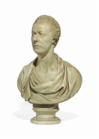bust of william pitt the younger by lorenzo bartolini
