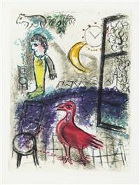 jean paulhan, de mauvais sujets, les bibliophiles de l'union française, paris (set of 10) by marc chagall