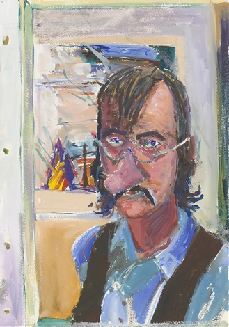 self portrait 1 by william t wiley