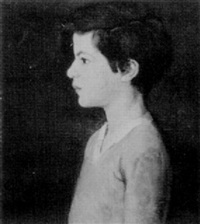 profile of a boy by bernhard gutmann