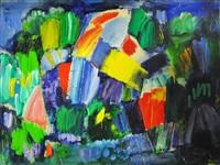 in the parott's garden #8 - nocturne by paul fournier