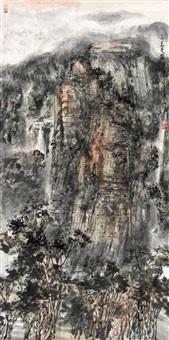 大岳苍雄 by qi haifeng