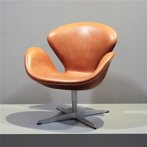 Lounge Sessel Swan Chair Modell 3320 By Arne Jacobsen On Artnet