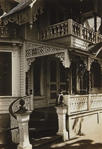19th century gingerbread house, oak bluffs, massachusetts by walker evans