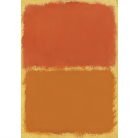 orange red orange by mark rothko