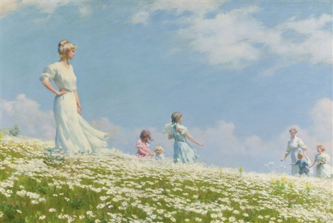 summer by charles courtney curran