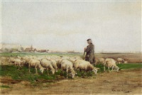 shepherd and his flock by james hamilton mackenzie