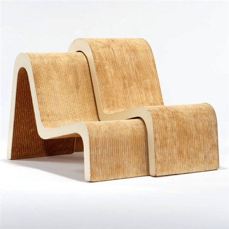Nesting Chairs Pair By Frank Gehry