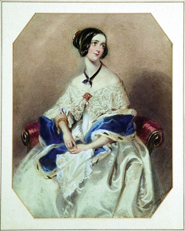 portrait of a lady by marie francoise corbeaux