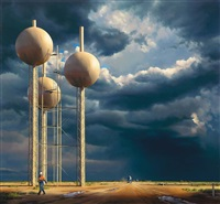 water tower ii by peter smets